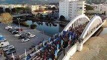 Le Marathon du Golfe de Saint-Tropez vu du ciel