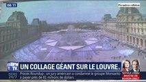 Pour ses 30 ans, la pyramide du Louvre a le droit à un collage monumental de l'artiste JR