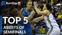 7DAYS EuroCup, Top 5 Assists of the Semifinals!