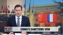 China, France reaffirm will to implement N. Korea sanctions