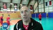 Christophe Charroux coach Martigues Volley avant St Nazaire - MVB