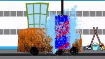 Car Wash And Garbage Truck | Lavage De Voiture Pour Les Enfants