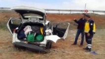 Trafik kazasında bir aile yok oluyordu...Takla atan otomobildeki 1 kişi öldü, 3 kişi yaralandı