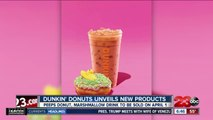 Dunkin' Donuts unveils peep donuts, marshmallow coffee for spring
