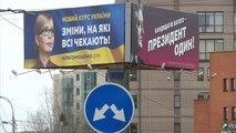 Les Ukrainiens voteront au premier tour de la présidentielle dimanche
