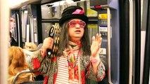 Happening :  Edouardo chante dans le Métro sans autorisation  (version 3 minutes)