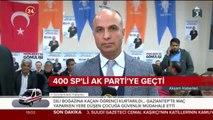 400 SP'li AK Parti'ye geçti