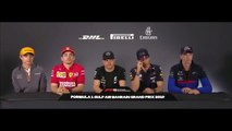 F1 2019 Bahrain GP -Thursday (Drivers) Press Conference