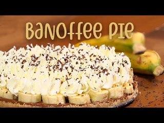 BANOFFEE PIE | Tarta fácil de plátano SIN HORNO | Receta paso a paso