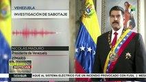 teleSUR Noticias: Ataque eléctrico en Venezuela fue provocado con fusi