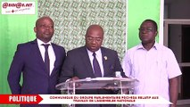 Communiqué du groupe parlementaire PDCI-RDA relatif aux travaux de l'Assemblée nationale