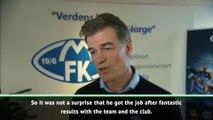 Molde managing director congratulates Solskjaer