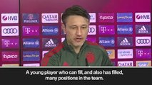 (Subtitled) Kovac happy with Lucas Fernandez signing