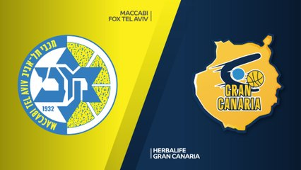 EuroLeague 2018-19 Highlights Regular Season Round 29 video: Maccabi 90-55 Gran Canaria
