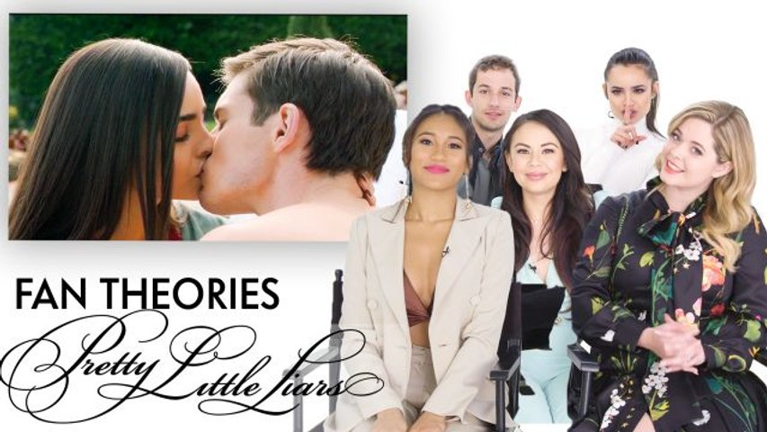 """Pretty Little Liars Fan Theories With the Cast of """"PLL: The Perfectionists"""""""
