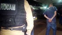 Quatro são detidos pela Rocam em ação contra o tráfico de drogas
