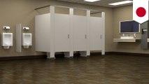 """Ada pesan misterius di toilet """"Perusahaan Gelap"""" Jepang - TomoNews"""