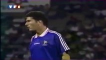 Zinedine Zidane ● Goals and Skills ● France 2:2 Czech Republic ● Friendly Match 1994 Debut de Zidane