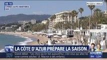 Sur la Côte d'Azur, on se prépare activement à l'arrivée des touristes pour les vacances de printemps