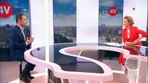 """Accrochage sur France 2 entre Benoît Hamon et Caroline Roux : """"Vous êtes venu prendre cette interview en otage pour dire du mal de la chaîne"""""""