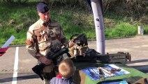 Pange : le 3e régiment de Hussards de Metz restituent leur mission au Mali aux écoliers de CM2