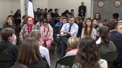 Grand Débat avec 50 enfants de Maine-et-Loire