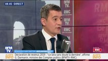 """Gérald Darmanin: """"Si Michel-Edouard Leclerc veut vendre gratuitement les produits bios, qu'il le fasse"""""""
