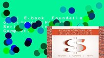 Full E-book  Foundations of Finance (Pearson Series in Finance) Complete