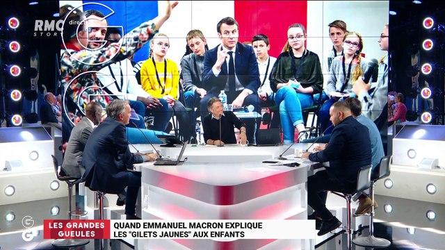 """Le monde de Macron : Quand Emmanuel Macron explique les """"gilets jaunes"""" aux enfants - 29/03"""