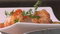 Gourmand - Tajine de lotte aux petits légumes