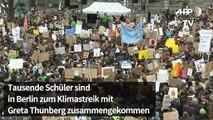 Fridays for Future: Tausende Schüler bei Klimastreik in Berlin