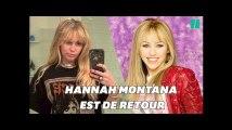 Miley Cyrus se transforme et redevient Hannah Montana