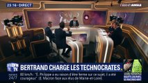 Xavier Bertrand charge les technocrates