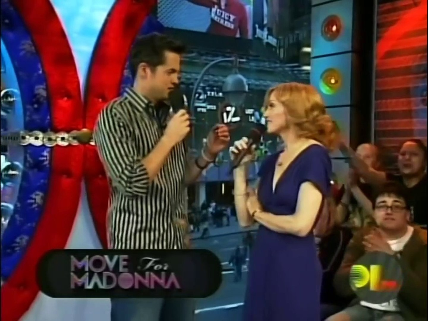MADONNA/  INTERVIEW AT MTV TRL/ 2005 / CONFESSIONS ON A DANCE FLOOR PROMOTION/ THESHOW 2019