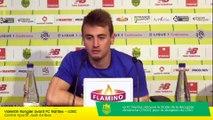 Valentin Rongier avant FC Nantes - LOSC