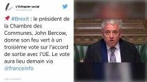 Brexit. Qui est John Bercow, la grande gueule du Parlement britannique?
