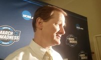 Oregon's Dana Altman talks about final minutes against Virginia
