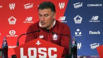 Galtier «On a l'avantage de faire la course en tête» - Foot - L1 - Lille