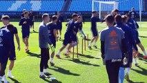 Último Entrenamiento del Celta en Balaídos Antes de Recibir al Villarreal