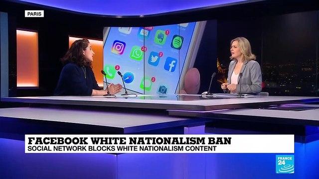 Facebook white nationalism ban: social network blocks white nationalism content