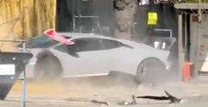 Il plante bêtement sa Lamborghini lors d'un rassemblement de supercars