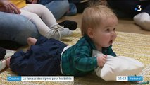 Crèches : la langue des signes pour les bébés