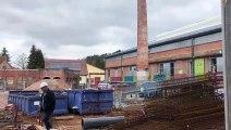 Meisenthal : chantier titanesque sur le site de la Halle verrière 12 M€ de travaux