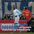 OM : au Vélodrome, Balotelli s'y sent comme dans son jardin