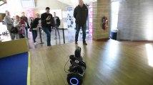 Liège : un robot vous guide avec une intelligence artificielle.