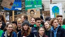 Greta Thunberg participa en la marcha de Berlín contra el cambio climático