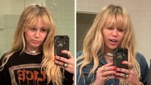 Miley Cyrus Revives 'Hannah Montana' With Epic Hair Makeover
