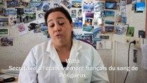 Wafa / Secrétaire à l'Etablissement Français du sang de Périgueux