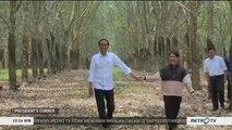 Momen Mesra Presiden Jokowi dan Ibu Negara