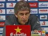 """Manuel Pellegrini: """"Barcelona está en un buen momento y Real Madrid, un poco convulsionado"""""""
